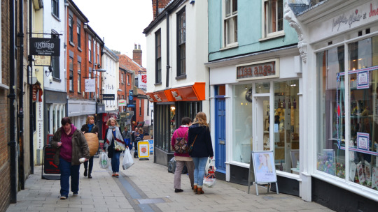 norwich lanes a short history