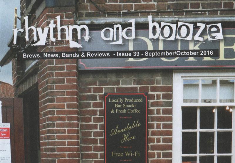 rhythm and booze magazine feature