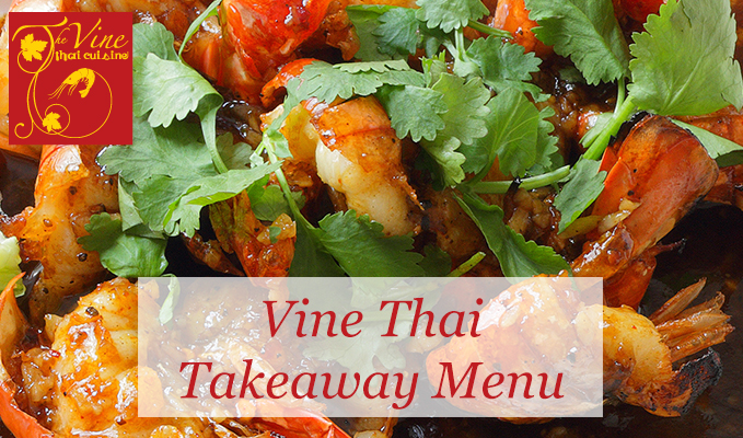 vine thai norwich takeaway menu