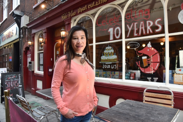 aey allen 10 years vine thai norwich sonya duncan copyright archant
